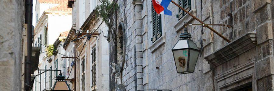 Croacia. Callejon Dubrovnik