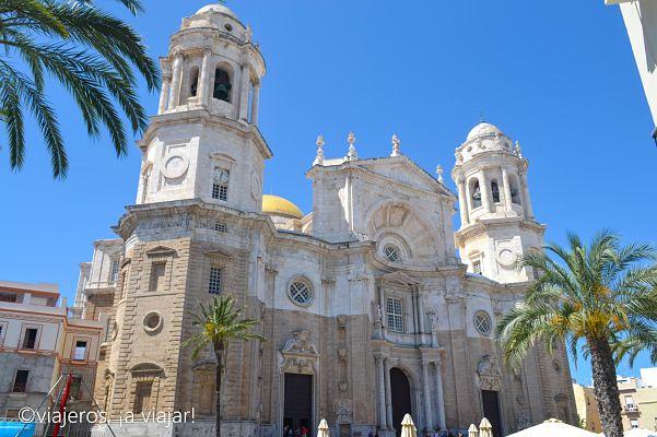 Cádiz. fachada de la catedral