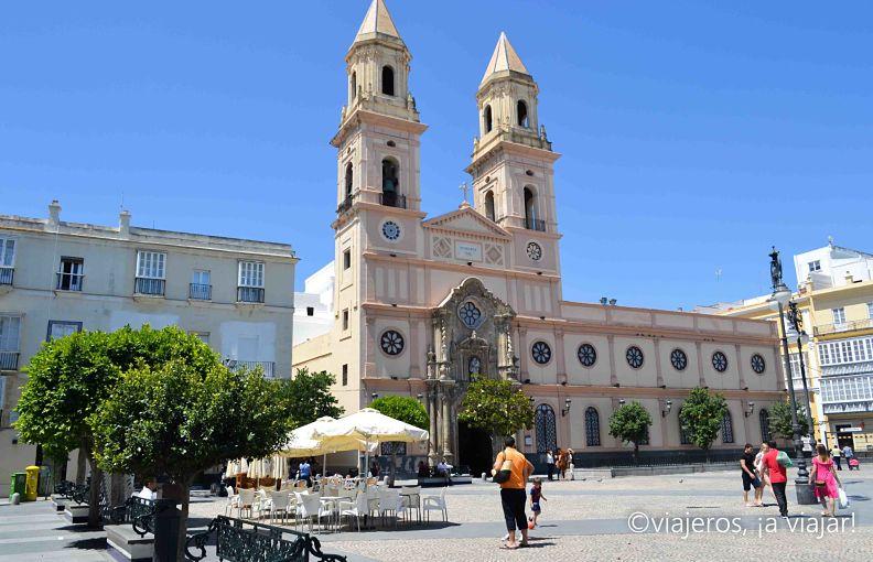 rutas de Cadiz. Plaza San Antonio