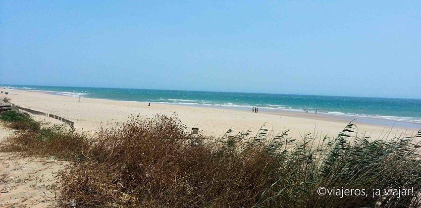 Playas estrecho. El Palmar