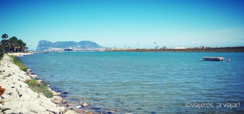 Gibraltar desde Palmones. PLayas