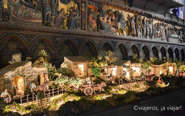 Belen en Notre Dame, Paris