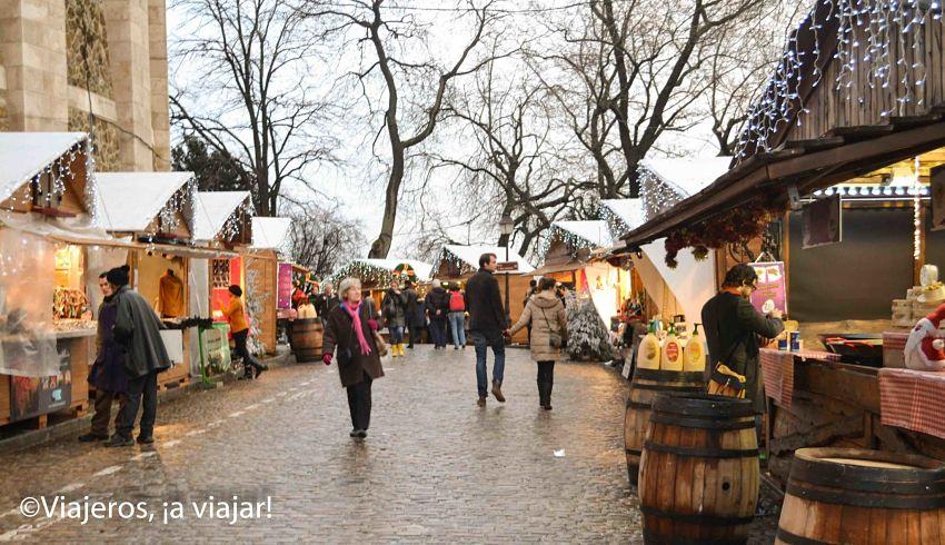 fiestas navideñas en Paris