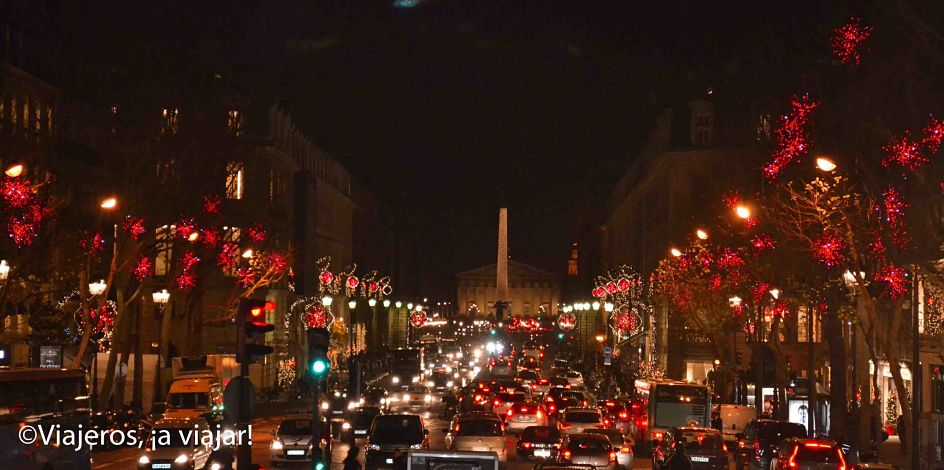 Fiestas navideña en Paris