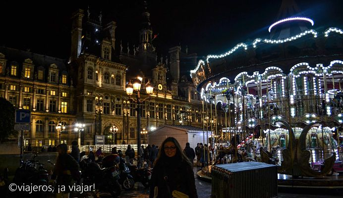 mercados navideños en paris