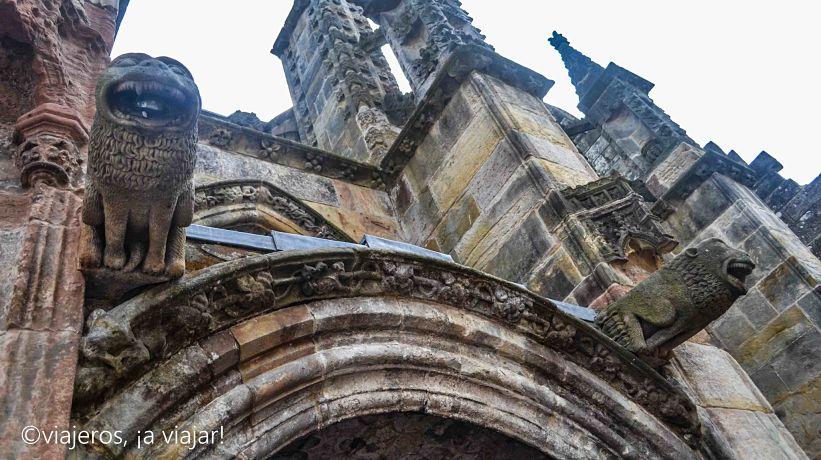 Capilla de Rosslyn, un misterioso rincón escocés