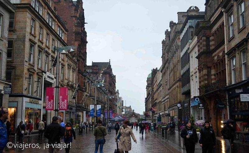 Glasgow - calle bucanan