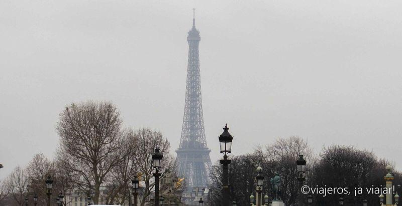 París -Torre Eiffel