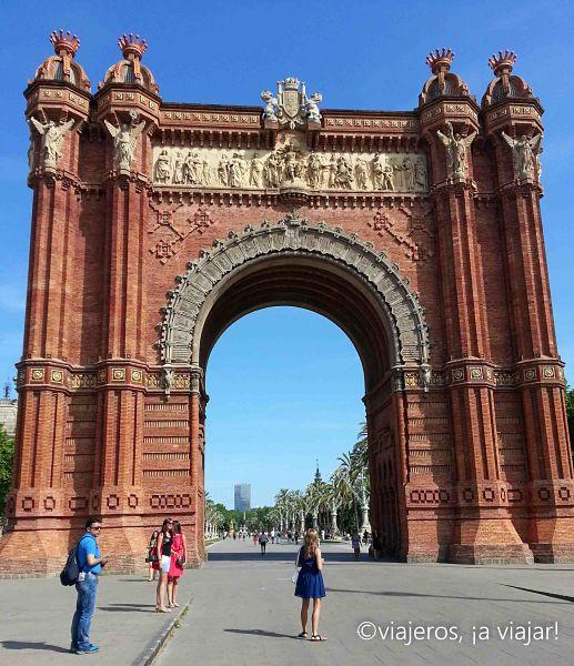 Barcelona. Arco del Triunfo