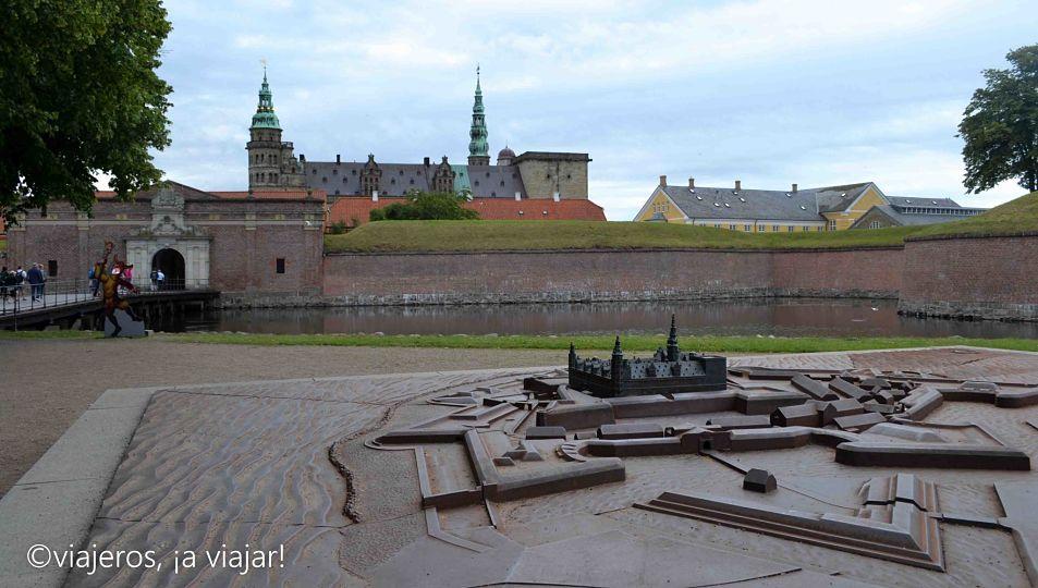 Entrada al Castillo de Kronborg