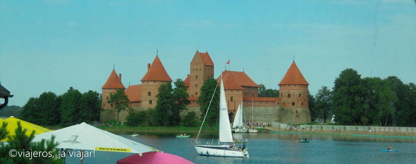 Trakai, un castillo lituano rodeado de agua