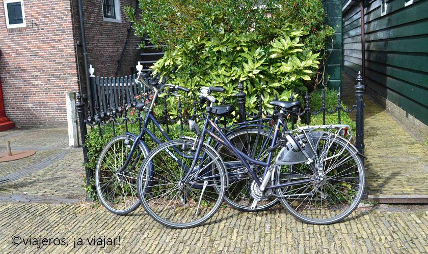 Zaanse Schans - bicicletas