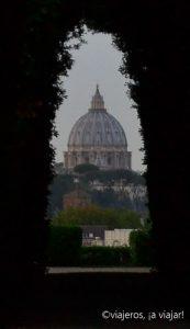 Roma antigua. Cerradura del Priorato