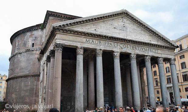 Roma Antigua. Panteón