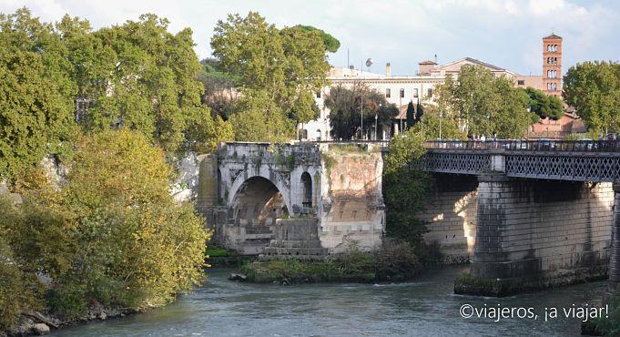 Roma antigua. Ponte rotto