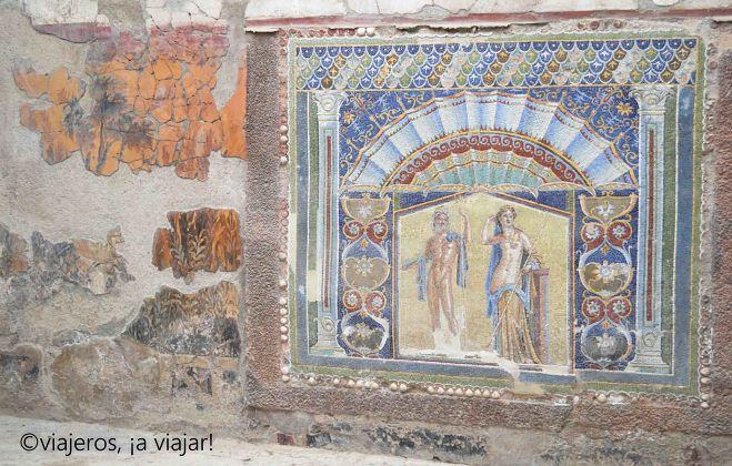 Pompeya, Herculano y monte Vesubio