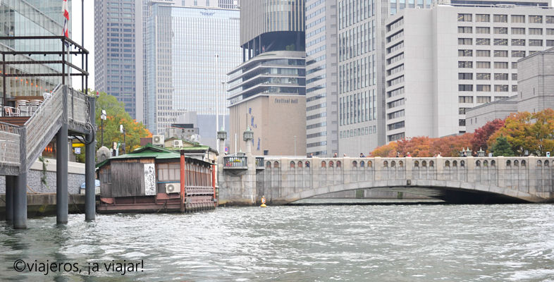Que ver en Osaka. Crucero