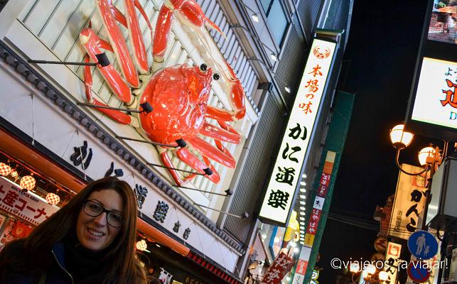 Que ver en Osaka. Dōtonbori