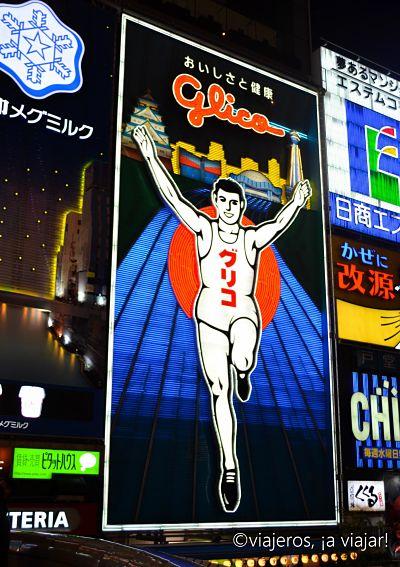 Que ver en Osaka. Glico man
