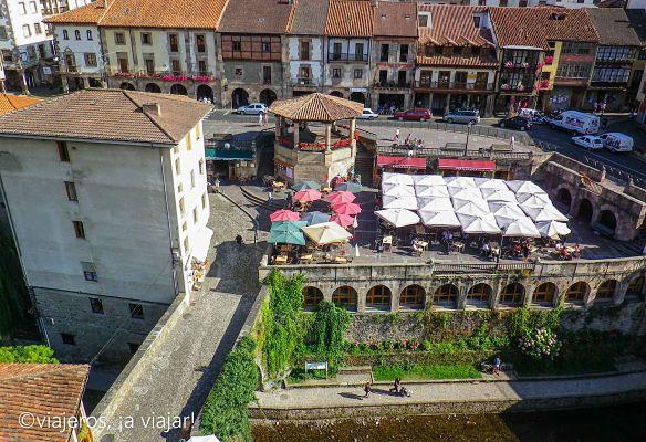 POTES. vista del centro medieval