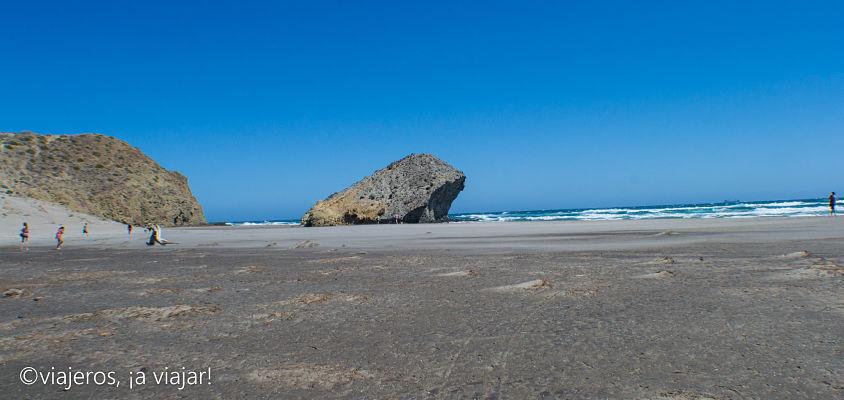 ALMERÍA pelicula. Playa de Monsul