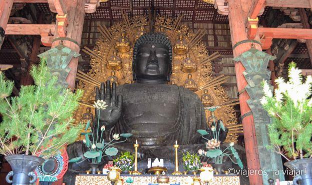 Buda sentado - Nara