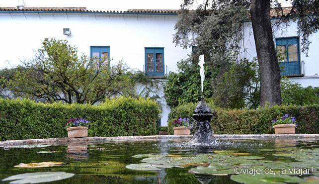El jardin del Palacio de Viana