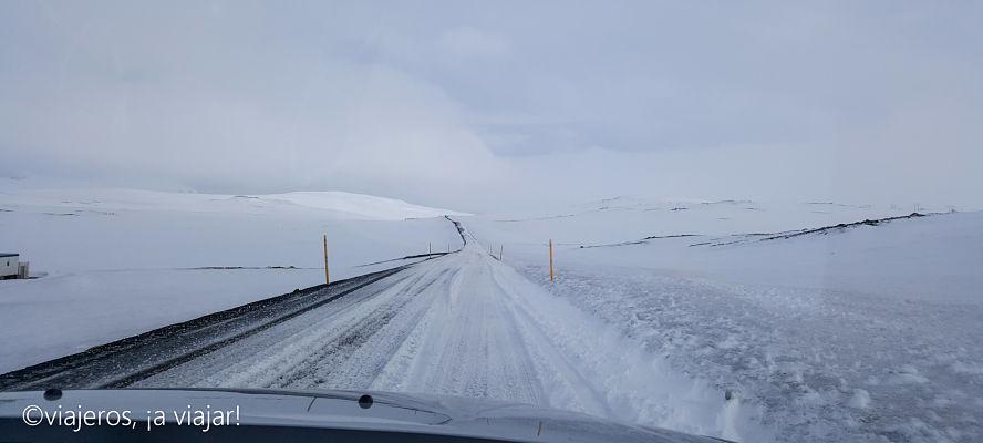 Ring Road que rodea Mývatn