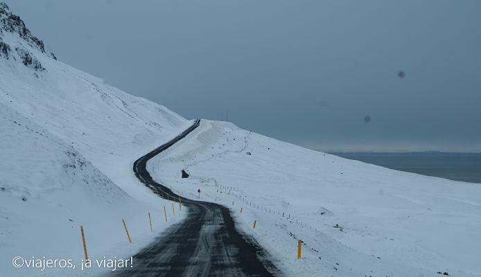 Carreteras de Islandia. Conducir