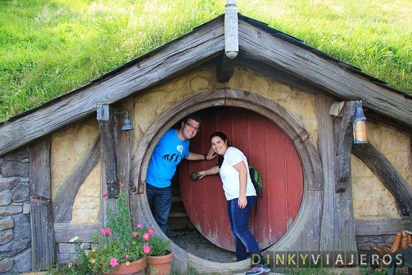 DINKYVIAJEROS - Hobbiton (Nueva Zelanda)