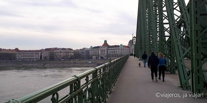 Praga - Budapest. Puente libertad