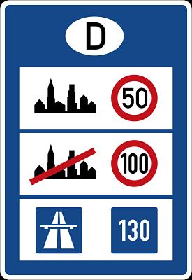 señalizaciones en alemania