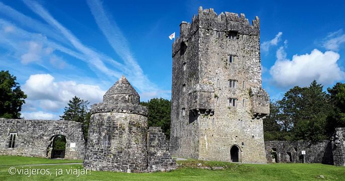 IRLANDA. Aughnanure Castle