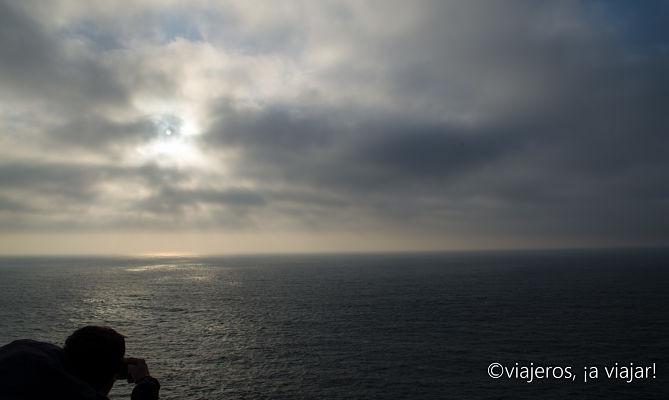 ALGARVE. atarceder en Cabo San Vicente