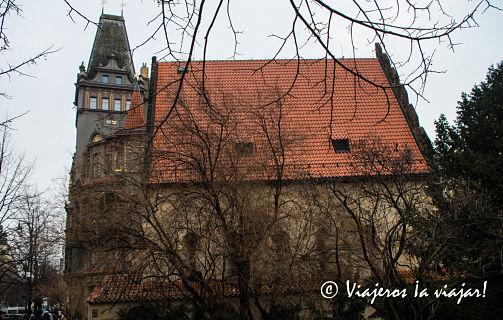 PRAGA. Sinagoga vieja