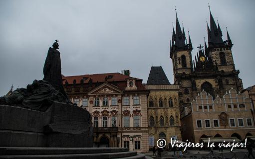 Praga. Iglesia de Týn