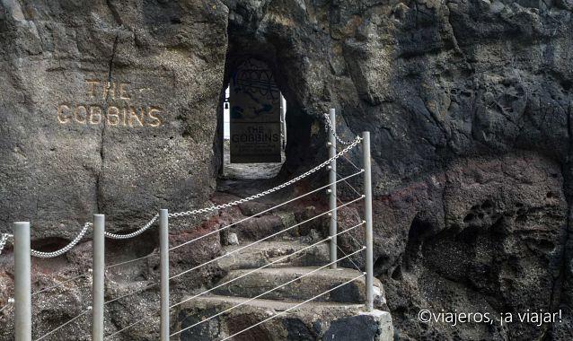 Entrada a The Gobbins