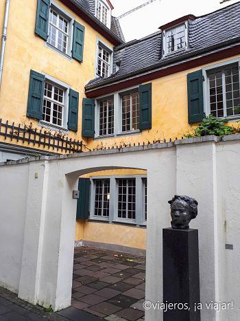 BONN. Interior casa natal Beethoven
