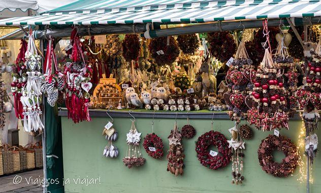 puestos artesania Viktualienmarkt