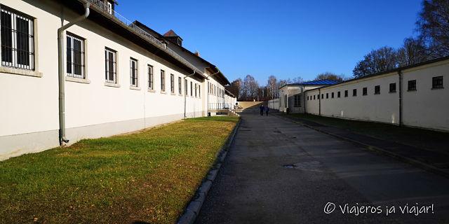 Barracones del campo de concentración