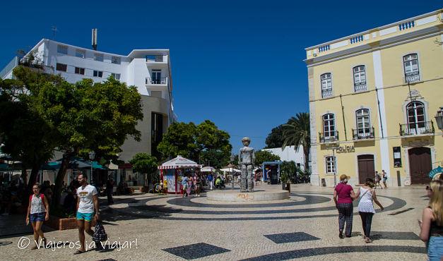 Plazas y calles de Lagos, Portugal