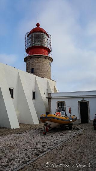 Faro de San Vicente en Sagres
