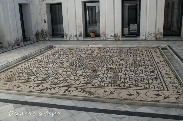 Mosaicos romanos Carmona
